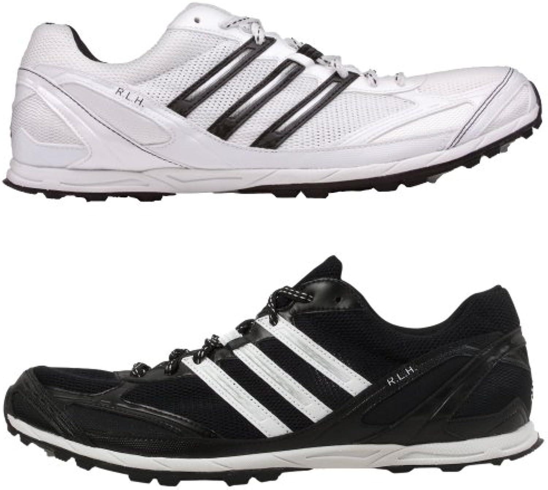 Adidas RLH Cross, Track and Field, Leichtathletik, Spikes, Schuhe mit 2 verschiedenen Grundfarben rechts: weiß-schwarzö -