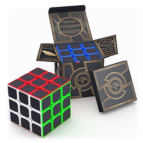 Der Cube II: Dreht schneller und präziser als das Original-Würfel; Super robust mit lebendigen Farben. Best Seller unter den 3x3x3-Geschwindigkeits-Würfel. 100% Geld-zurück-Garantie!