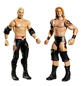 WWE 2 Packs 9 Christian and Heath Slater figures Nexus by Mattel