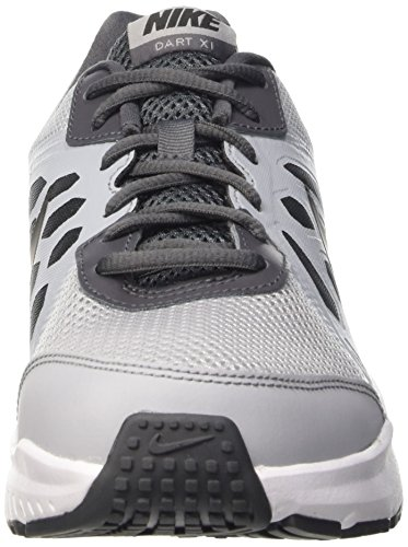 Nike Dart 11, Running Homme Gris (Wolf Grey/Black-Dark Grey-White 014)