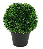 DARO DEKO künstlicher Buchsbaum Kugel ohne Stämmchen