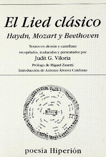 E Lied clásico : Haydn, Mozart y Beethoven por From Ediciones Hiperión, S.L.