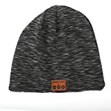 Storagc - Sombrero Bluetooth Unisex cálido para Nieve al Aire Libre con Soporte de Llamada + música + Pantalla de batería + sonda de Voz Moderno y Suave esquí Otras Actividades al Aire Libre