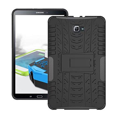 cover silicone tablet 8 pollici Skytar Custodia per Galaxy Tab A 10.1- Protezione in Silicone & PC Duro Stand Cover per Samsung Galaxy Tab A 2016 SM-T580/T585 10.1 Pollici Tablet Custodia