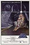 Star Wars . Rétro Sci-Fi Affiche Du Film 2 . Différentes Tailles - Taille Super A1 24 x 36 ins