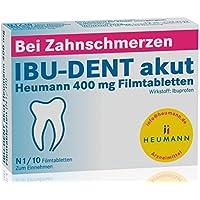 Preisvergleich für Ibu-dent akut Heumann 400 mg, 10 St. Filmtabletten