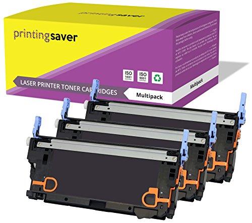 Printing Saver 3 CYAN MAGENTA GELB Premium Toner kompatibel zu Q6471A Q6472A Q6473A (502A) für HP Color Laserjet 3600 3600dn 3600n 3800 3800dn 3800dtn 3800n CP3505 CP3505dn CP3505n CP3505x (Q6473a Magenta Hp Laser)