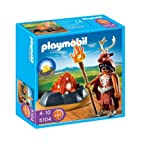PLAYMOBIL® 5104 - Guardiano del fuoco con focolare illuminato