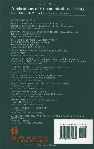 Data Communications Principles (Applications of Communications Theory)