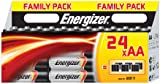 Energizer Classic Family Pack of AA Batteries 24 Pieces