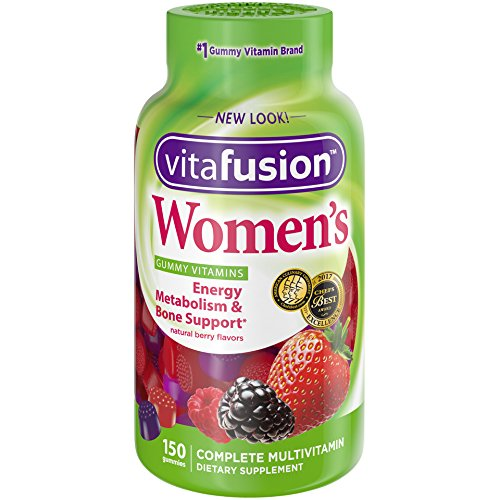 Vitafusion Women's Gummy Vitamins, Natural Berry Flavors, 150 Count by Vitafusion (Vitafusion Gummies)