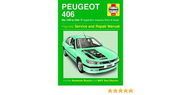 peugeot 406 repair manual haynes manual service manual workshop rh amazon co uk Peugeot 406 Manual Model 2003 Peugeot 406 Manual Model 2003