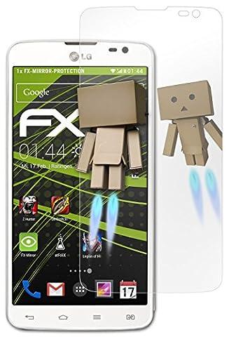 LG G Pro Lite Spiegelfolie - atFoliX FX-Mirror Displayschutz Folie mit Spiegeleffekt