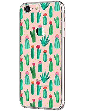 iPhone 7 Funda Pacyer® Suave Carcasa iPhone 7 Case Cover Silicona Funda para Apple iPhone 7 Diseño naturaleza...