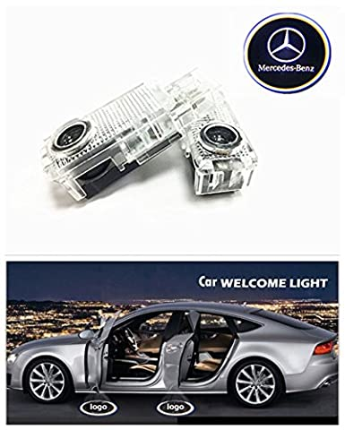 ZNYSTAR Benz CLK Car Led Projector Door Lamp Ghost Shadow Welcome Light Laser Courtesy Logo Kit, 1