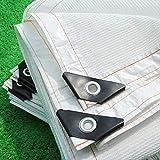 Paralume Ombreggiato con Passacavi, Paralume Bianco 90% Reticolato Resistente Ai Raggi UV per Patio sul Tetto della Veranda (Dimensioni : 2x1m)