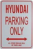 HYUNDAI Parkplatz nur Zeichen