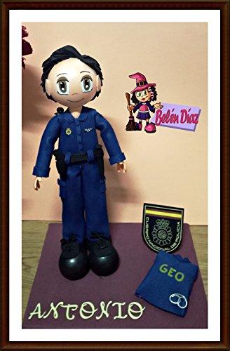 Fofucha policia nacional 35 cms