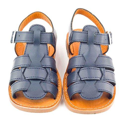 Boni Achille - Sandale enfant Bleu Marine