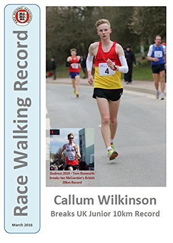 Race Walking Record 846 - March 2016 (English Edition) por Noel Carmody
