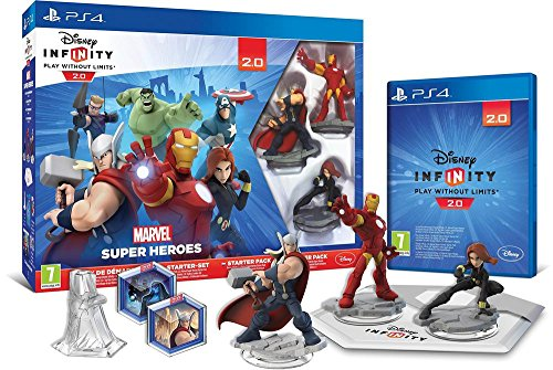 Disney Infinity 2.0: Marvel Super Heroes - Pack De Démarrage [Importación Francesa]