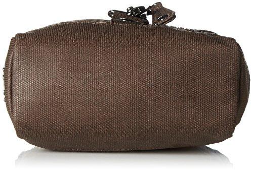 Sansibar B-926 SA, Borsa a tracolla Donna, 18x21x8 cm (B x H x T) Marrone (taupe 037)