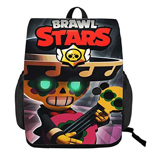MR.YATCLS Brawl Stars Zaino Per Studente Zaino Per Portatile Zaino Per Scuola Zaino Uomo Gruppo Target: Studenti Delle Scuole Elementari/Bambini/Ragazze/Ragazzi