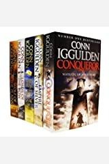 Conqueror Series Collection 5 Books Set By Conn Iggulden (Wolf of the Plains,  Lords of the Bow, Bones of the Hill, Empire Of Silver, Conqueror) Paperback