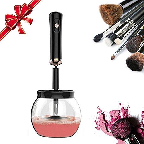 Waschen Kabuki-pinsel (Makeup Pinselreiniger Kosmetik Elektrische Reiniger Automatische Spin Drehen Kosmetikpinsel Reinigungsgerät Cleaner and Drier Reinigung Werkzeug)