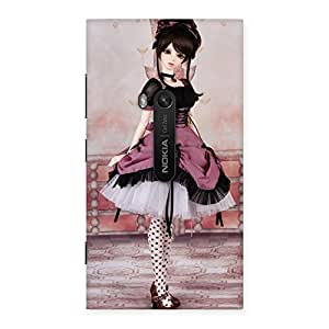 Special Cute Dancing Girl Multicolor Back Case Cover for Lumia 920
