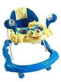 baby walker pink blue Yellow WOODFIELD® Boys Girls 3 in 1 360 degree wheel (Blue) - Woodfield - amazon.co.uk