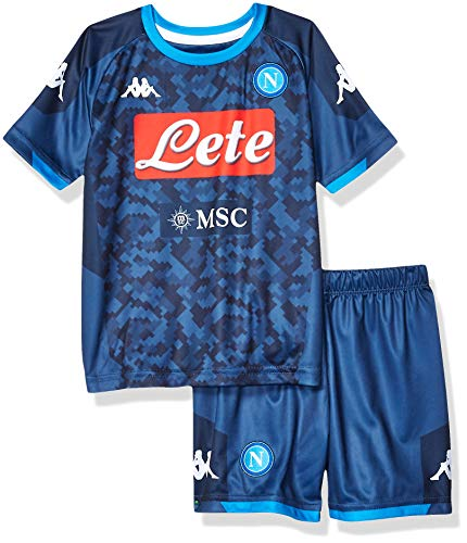 SSC Napoli 2019/2020 Kinder Torhüter Auswärts-Set