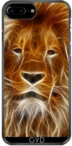 Hülle für Iphone SE - Neon-Löwe by WonderfulDreamPicture Plastique Rigide