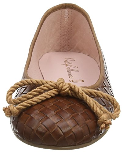 Pretty Ballerinas 44876 - Ballerine donna Marrone (Brown (Fulton Peru))