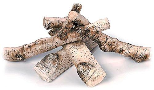 QUALITÄTSPRODUKT 5 STÜCK*Keramikholz Keramik Holz - Den Für Kamin Holzscheite