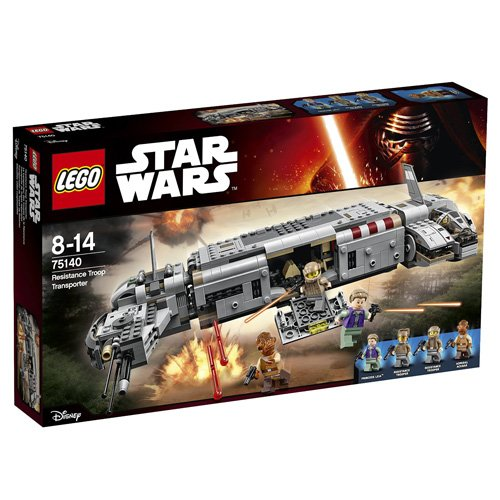 LEGO Star Wars - Resistance Troop transport, multicolor (75140)