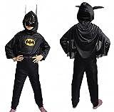 #9: Fancydresswale Batman Dress For Kids (Medium (4-6 YRS))