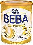 Nestlé BEBA SUPREME 2 Folgenahrung: ab dem 6. Monat, Pulver, mit hydrolisiertem Eiweiß, im Anschluss an das Stillen, 1er Pack (1 x 800g)