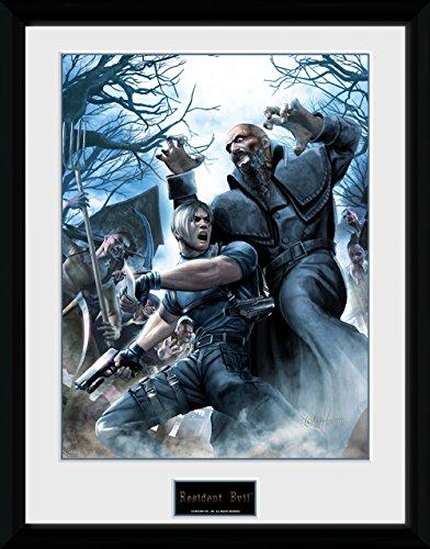 GB Eye, Resident Evil, Leon, Foto incorniciata 40 x 30 cm