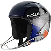 Bolle 30930 Podium Blue and Orange Star Ski Helmet (54cm)