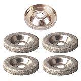 Basage Accessori per Smerigliatrice per Mole Diamantate Speciali con Mola Diamantata Da 180 Gr
