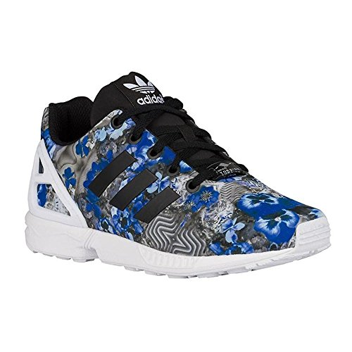 96a5b8fe71661 Adidas Zx Flux K, Chaussures Enfants, Garçon Gris / Bleu mAfVTv ...