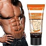 Addominali muscoli Crema, Potente più muscolare Anti Cellulite grasso Combustione Perdita di Peso Crema, 60ml