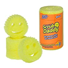 Scrub Daddy Cleaning Sponge (Pack of 4)
