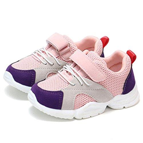 afea23d15 ZODOF Niño pequeño Bebé Niños Niñas Niños Zapatillas de Deporte Casuales  Malla Zapatillas de Deporte Zapatos Zapatillas Respirable Mocasines