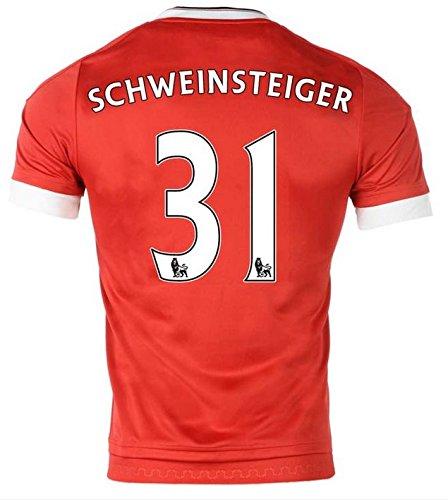 Trikot Adidas Manchester United 2015-2016 Home (Schweinsteiger 31, L)