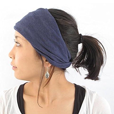 Casualbox Women Made in Japan HeadBand Hair band Organic Cotton