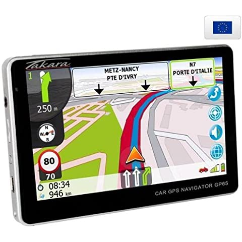 Takara GP65 GPS y navegador - Navegador GPS (127 mm (5