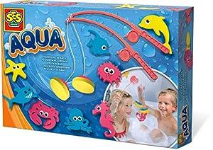 SES Creative Aqua Pescar en el baño SES - Juegos, Juguetes y Pegatinas de baño (Set de Juegos para el baño, Niños, 3 año(s), Niño/niña, Multicolor, Países Bajos)