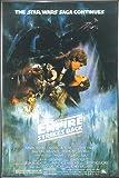 Star Wars Poster Empire Strikes back Style A (93x62 cm) gerahmt in: Rahmen anthrazit metallic